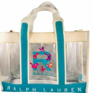 Ralph Lauren Fragrances Clear Tote Bag Stadium